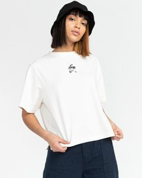 2 Minimal - Camiseta para Mujer Beige Z3KTC1ELF1 Element