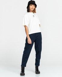 3 Minimal - Camiseta para Mujer Beige Z3KTC1ELF1 Element