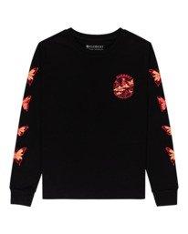 0 Nevso - Long Sleeve T-Shirt for Women Black Z3LSB1ELF1 Element