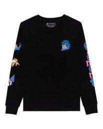 0 Karvel - Long Sleeve T-Shirt for Women Black Z3LSB2ELF1 Element