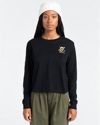 2 Transender - Long Sleeve T-Shirt for Women Black Z3LSB6ELF1 Element