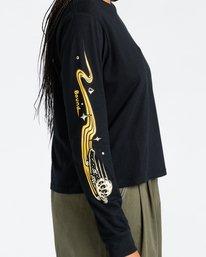 3 Transender - Long Sleeve T-Shirt for Women Black Z3LSB6ELF1 Element