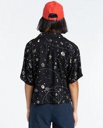 3 Java Galaxy - Short Sleeve Shirt for Women Multicolor Z3SHB3ELF1 Element