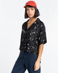 2 Java Galaxy - Short Sleeve Shirt for Women Multicolor Z3SHB3ELF1 Element
