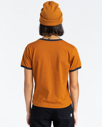 3 Baleek - T-Shirt for Women Beige Z3SSD2ELF1 Element