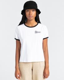 1 Baleek - Camiseta para Mujer Blanco Z3SSD2ELF1 Element