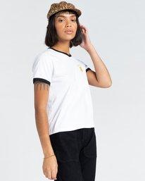 3 Casco - T-Shirt for Women White Z3SSD3ELF1 Element