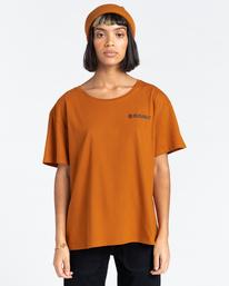 1 Blazin Chest - T-Shirt for Women Beige Z3SSD4ELF1 Element