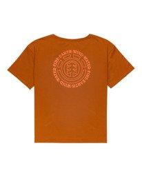 1 Exley - T-Shirt for Women Beige Z3SSD6ELF1 Element