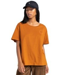2 Exley - T-Shirt for Women Beige Z3SSD6ELF1 Element