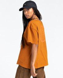 3 Exley - T-Shirt for Women Beige Z3SSD6ELF1 Element