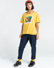 3 Toluca - T-Shirt for Women Yellow Z3SSE2ELF1 Element
