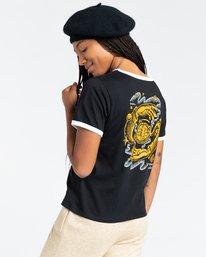 3 Rotation - T-Shirt for Women Black Z3SSE9ELF1 Element