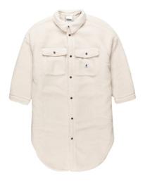 0 Manitoba Pile - Oversized Shirt for Women Beige Z3WAA2ELF1 Element
