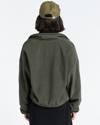 5 Oslo - Zip-Up Sweatshirt for Women Green Z3WAA4ELF1 Element