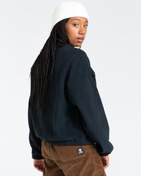 2 Oslo - Zip-Up Sweatshirt for Women Black Z3WAA4ELF1 Element