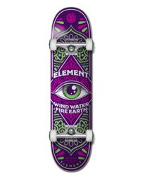 """0 THIRD EYE 7.75"""" COMPLETE SKATEBOARD Multicolor Z4CPA8 Element"""