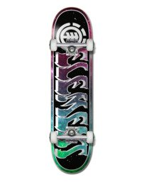 """0 OUT THERE 7.75"""" COMPLETE SKATEBOARD Multicolor Z4CPA9 Element"""