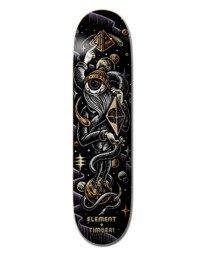 "0 8.5"" Timber Orbit Eye - Deck de skateboard pour Unisexe Noir Z4DCA2ELF1 Element"