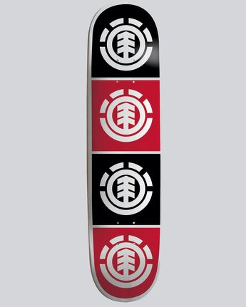 "0 Quadrant 7.75"" - Skateboard Deck  04DCWTELPP Element"