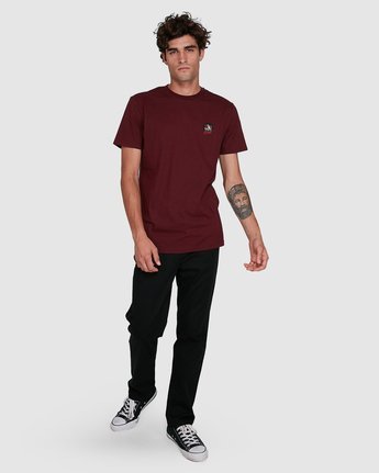 4 CAT CLAW SHORT SLEEVE TEE Red 102006 Element