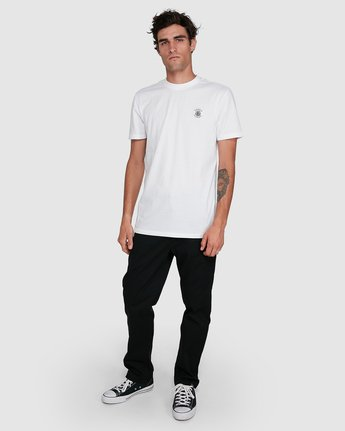 4 BRACKETT SHORT SLEEVE TEE White 102018 Element