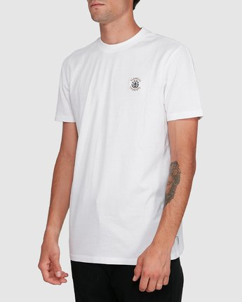 2 BRACKETT SHORT SLEEVE TEE White 102018 Element
