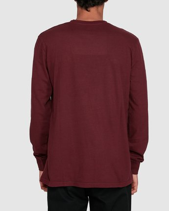 1 GYM LONG SLEEVE TEE Red 102051 Element