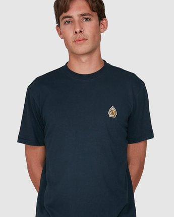 3 FORCE OF NATURE SHORT SLEEVE TEE Blue 105008 Element