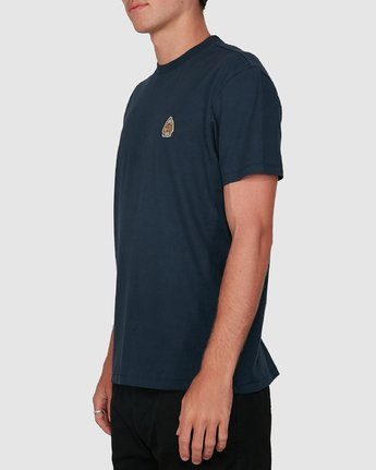 2 FORCE OF NATURE SHORT SLEEVE TEE Blue 105008 Element