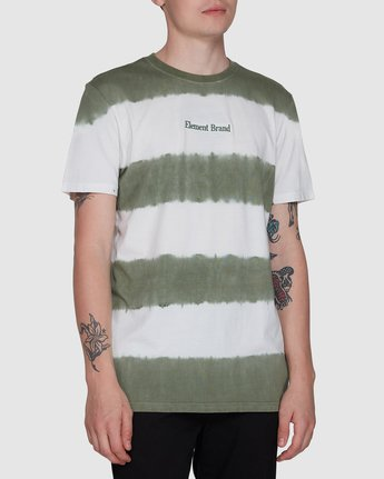 0 Karma Slub Ss Tee Green 107003 Element
