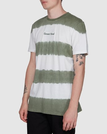 2 Karma Slub Ss Tee Green 107003 Element