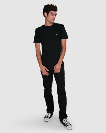 6 Cornell Short Sleeve Tee Black 107004 Element