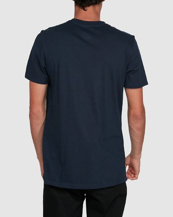 3 Cornell Short Sleeve Tee Blue 107004 Element
