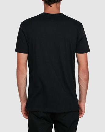 3 Cornell Short Sleeve Tee Black 107004 Element