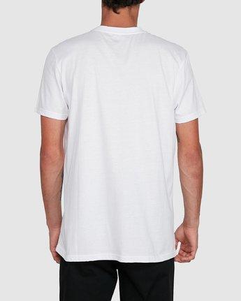 3 CORNELL SHORT SLEEVE TEE White 107004 Element