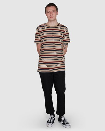 3 Fairway Stripe Ss Tee  107007 Element