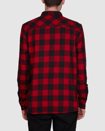 1 Buffalo Ls Shirt Red 107216 Element