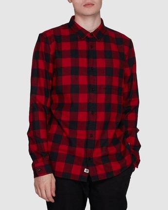 1 Buffalo Ls Shirt Red 107216 Element