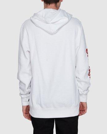 1 Cadet Hoodie White 107310 Element