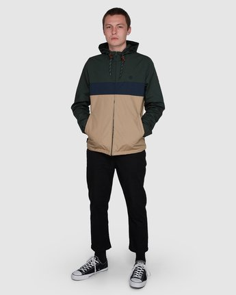 3 Alder 3 Tones Jacket Grey 107455 Element