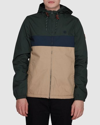 0 Alder 3 Tones Jacket Grey 107455 Element