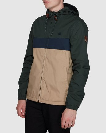 2 Alder 3 Tones Jacket Grey 107455 Element