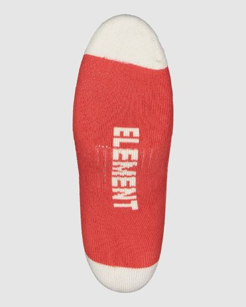 1 Clearsight Socks Red 107691 Element