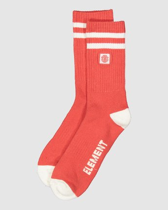 2 Clearsight Socks Red 107691 Element