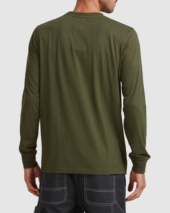 3 SIMPLE TRUTH LONG SLEEVE TEE Green 117053 Element