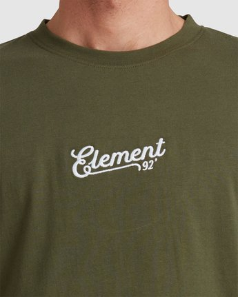 4 SIMPLE TRUTH LONG SLEEVE TEE Green 117053 Element