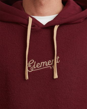 4 SIMPLE TRUTH HOODIE Red 117307 Element