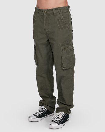 1 Source Cargo Pant Green 134243 Element