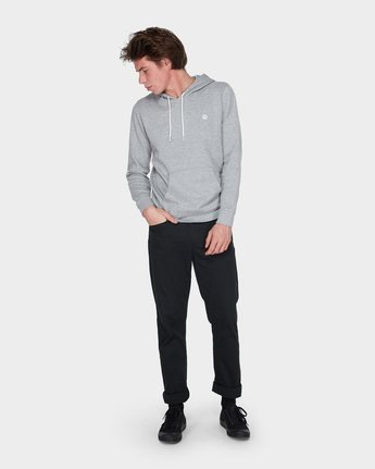 4 Cornell Classic Hoodie Grey 176303 Element